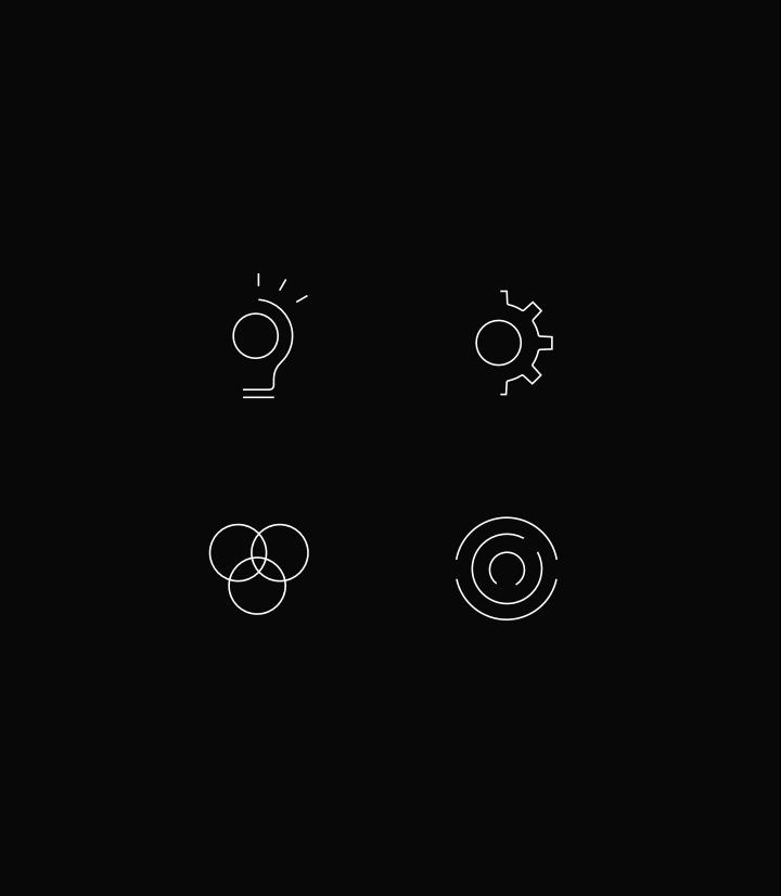 4 Weima iconen toegepast in de website